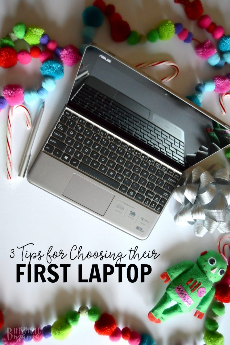 3 Things to Consider When Gifting Your Child their First Laptop