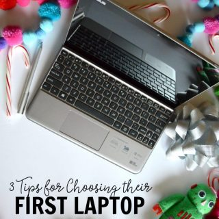 3 Tips for Choosing your Child's First Laptop - The perfect Christmas gift for kids - at B-Inspired Mama