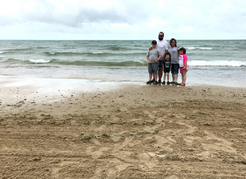 Family Picture on Sherkston Shores