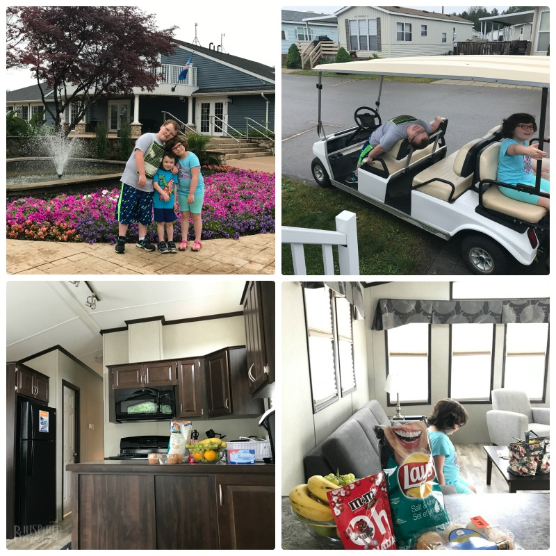 Our Sherkston Shores Vacation Memories - Getting Settled in our Cottage