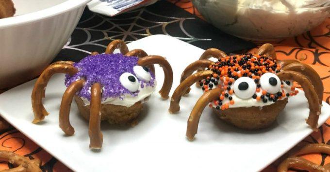 Spider Bites Halloween Snack for Kids