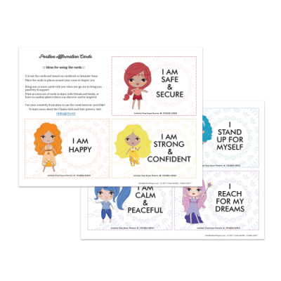 Inner Rainbow Project Positive Affirmation Cards