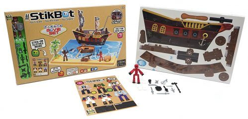 Stikbot Pirate Scene Movie Set