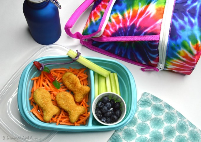 Go Fish! - An Easy and FUN Lunch for Kids - Perfect for a Cute Packed Lunch - at B-Inspired Mama