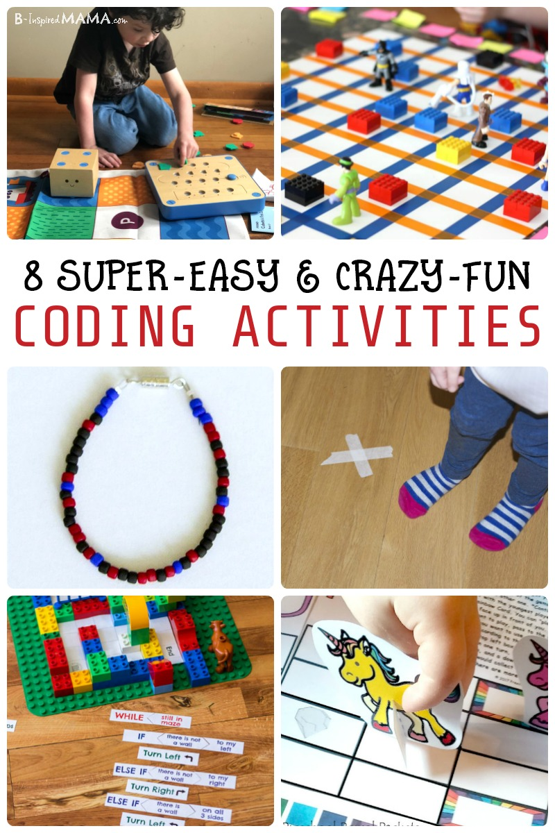 Help your child learn valuable tech skills with one of these 8 Easy and Fun Coding Activities for Kids. They'll learn basic computer programming (without a computer!) and have so much FUN they won't even realize they're learning! PLUS, learn about our new favorite coding robot toy, Cubetto! #sponsored #technology #tech #techtoys #toys #kids #kidsactivities #cubetto #STEM #STEMactivities #coding #code #learning #earlylearning #preschool #kbn #binspiredmama
