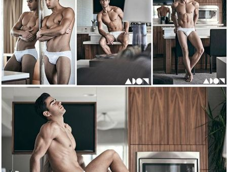 Furkan Tan by Hayden Shu in his C-in2 & Oryx Wear for Adon Magazine