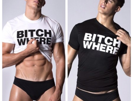 Pietro Boselli for Dsquared2 in Bitch Where?