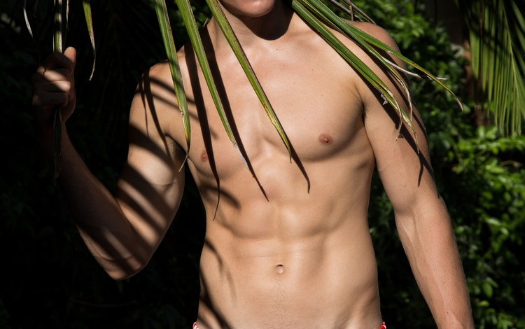 Alex Valley by Ted Sun in his Garçon Model for Adon Magazine