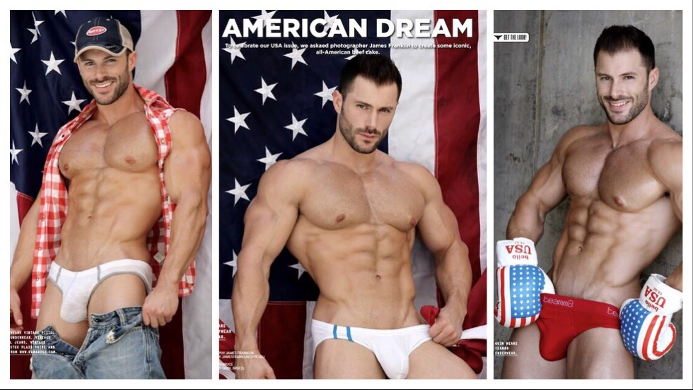 🇺🇸  Quin Bruce by James Franklin in 'American dream'
