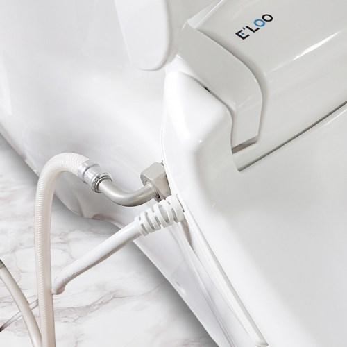 E'LOO 電腦馬桶座專用L型水管-1