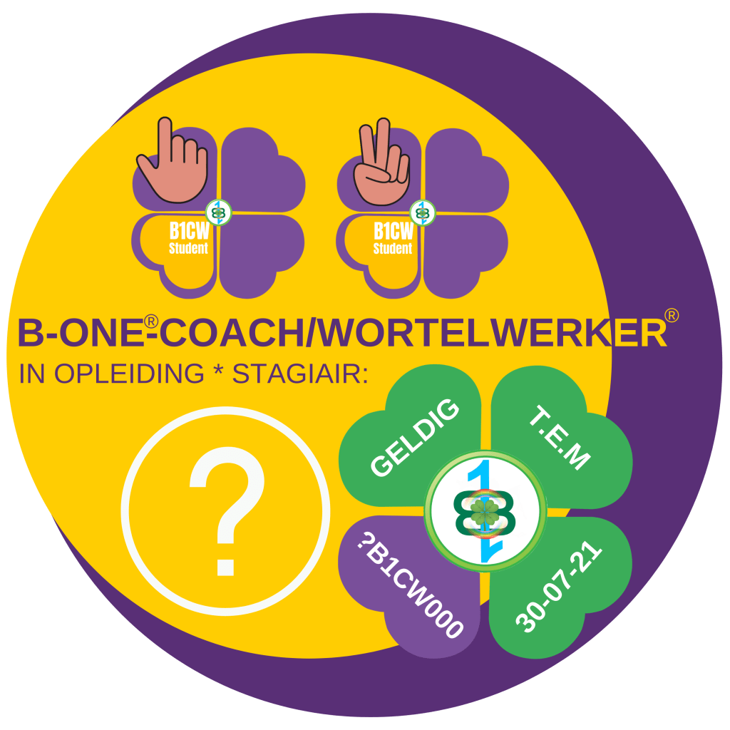 LOGO stagiair B-One®-Coach/Wortelwerker®