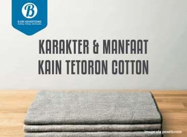 Karakter dan Manfaat Kain Tetoron Cotton (TC)