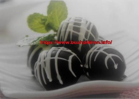 resep kue kering Choco Black Ball