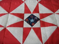 Guest Blogger: Sue Edberg and her beautiful Star Quilts