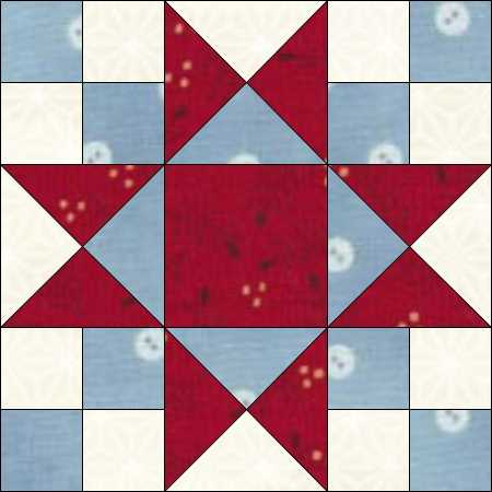 Secondary Design For A Star Blue Feather Quilt Studio