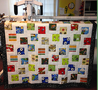 Patience Corners with the AccuQuilt GO! 8″ Square Die