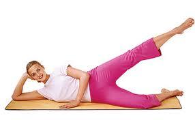 side lying leg lift
