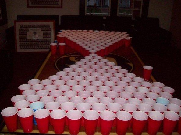 210 cup beer pong