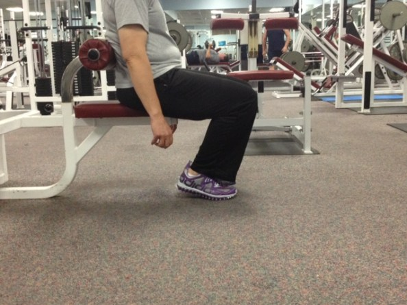 knee pain during sitting