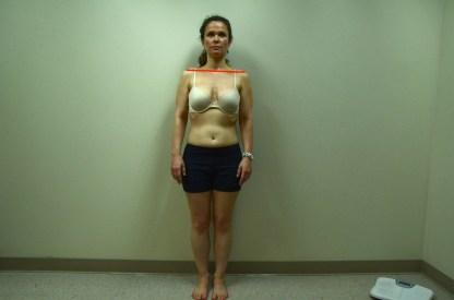 Jennifer S. Front Shoulder horizontal line