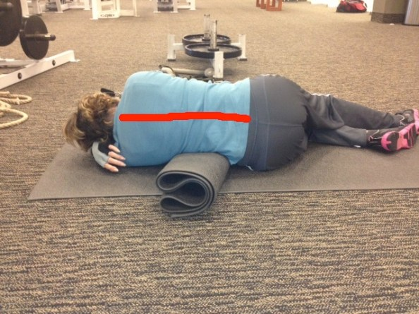 Diane sleep better less pain spinal line