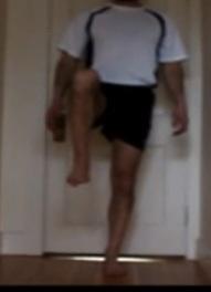 Chris Right knee lift