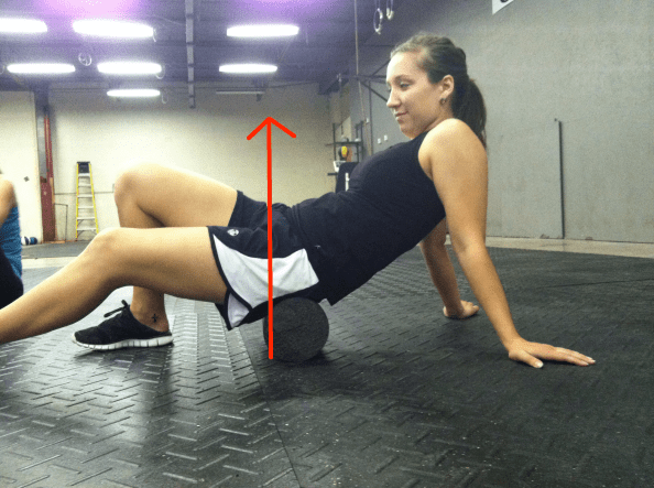 foam roll glutes issues anterior glide lines