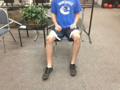 Sitting hip retroversion adjustment