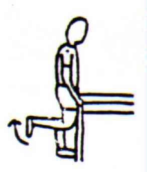 90 degrees knee flexion