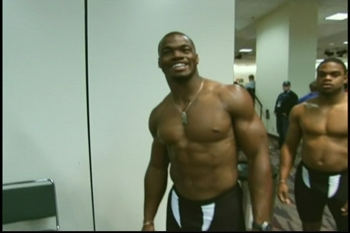 Adrian Peterson shirt off
