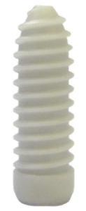 Interference screw close up