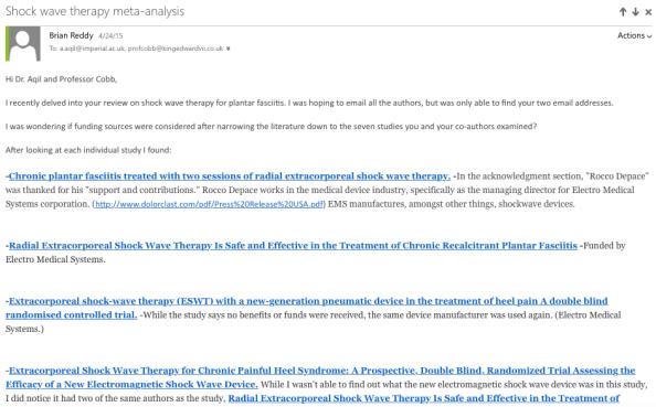 Shockwave email 1