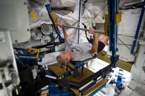 Bench Press. (Image credit: NASA)
