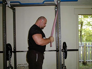 Dave Tate bands triceps