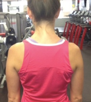 shoulders pulling down neck tightness