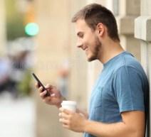 smartphone neck position