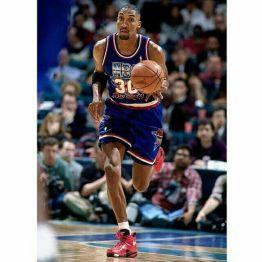 Scottie Pippen remonte le ballon lors du All-Star Game 1994 (c) pinterest