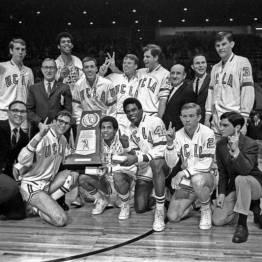 UCLA Champion NCAA en 1968 (c) uclabruins.com
