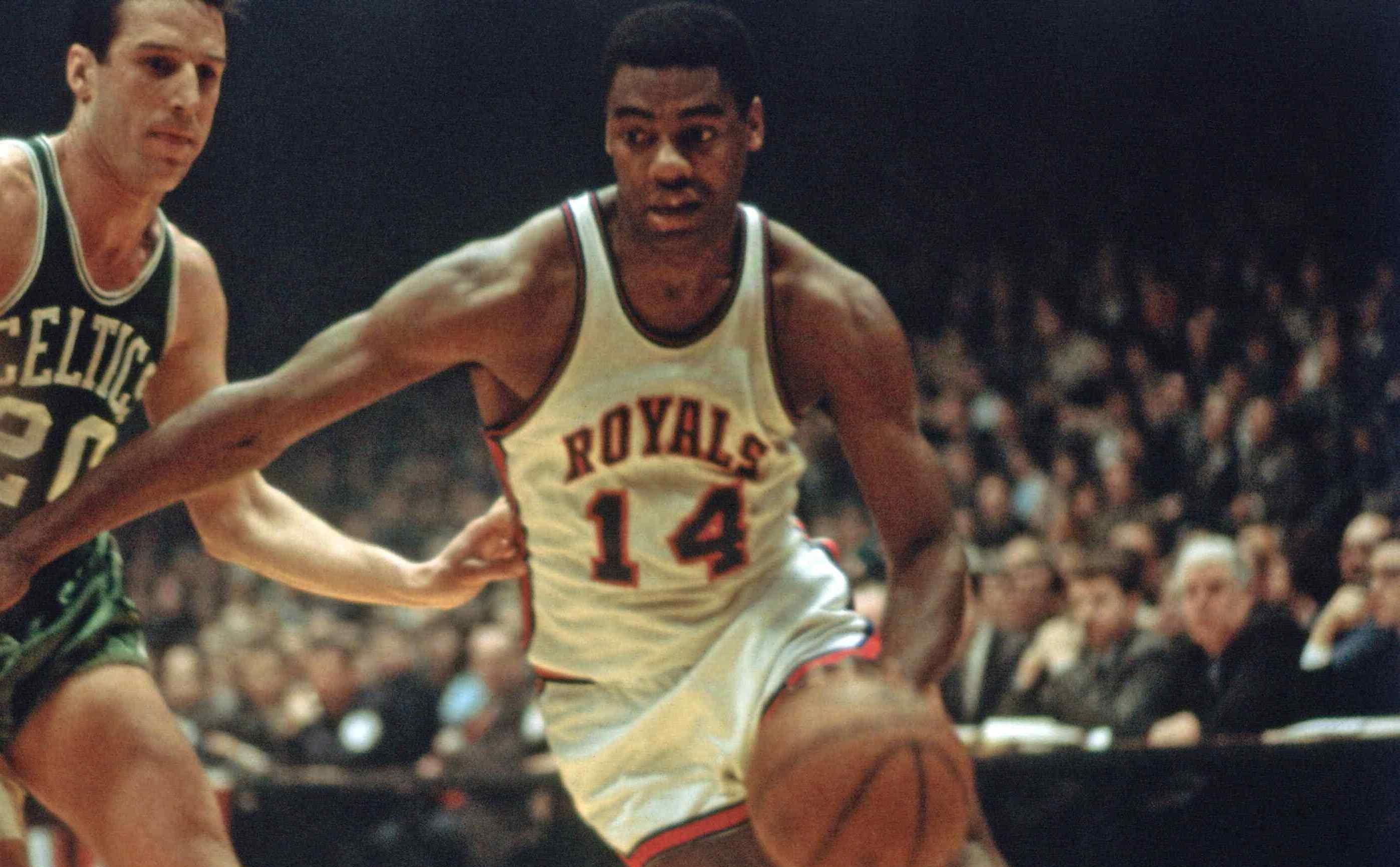 Oscar Robertson élu Rookie Of The Year en 1960-1961