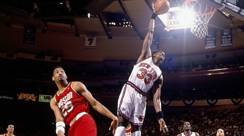 NBA Finals 1994 : avantage Knicks au match 5 face aux Rockets, Patrick Ewing au bord du triple-double