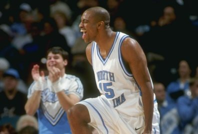 Vince Carter, 5 Decembre 1997 avec North Carolina