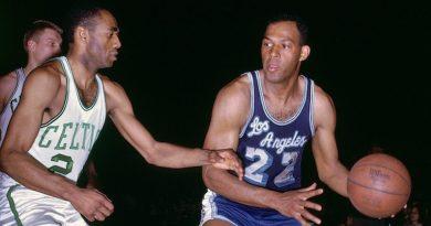 Elgin Baylor, 61 points lors du Game 5 des NBA Finals 1962