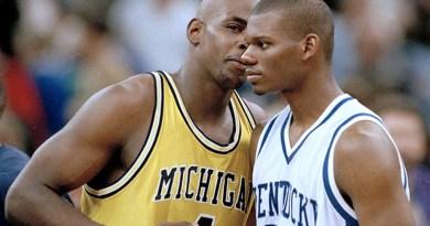 Kentucky et Jamal Mashburn à deux doigts d'éliminer le Fab Five de Michigan en 1995