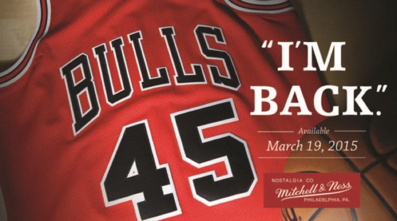 Le 19 mars 1995, Michael Jordan is back : Jojo rechausse les baskets