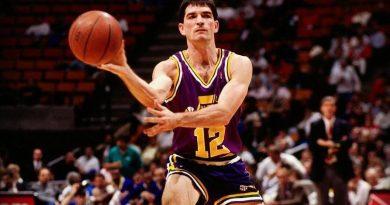 John Stockton effleure le triple-double : son match incroyable face aux Spurs à 28 passes en 1991