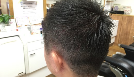 ベリーショートのメンズスタイル【6件】
