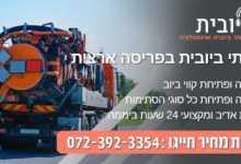 Photo of שמים סוף לסתימות ביוב בתל אביב