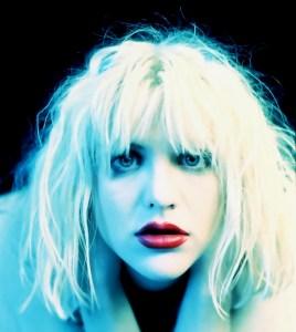 Courtney Love close up