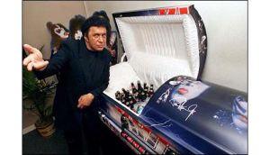 KISS Coffin Gene Simmons