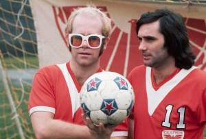 Singer Elton John and Soccer Player George Best